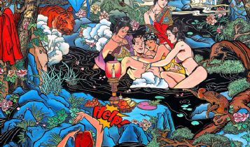 Society & Culture  & Entertainment: Angel Zarraga Painting Information